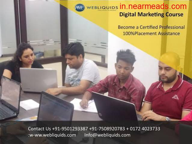 Webliquids – Advanced Digital Marketing Training Institute in Chandigarh - 1