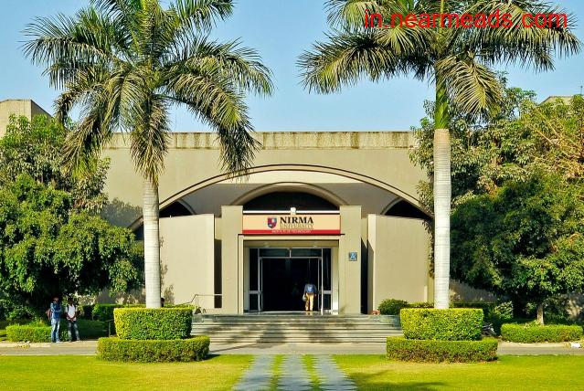Institute of Technology Nirma University Ahmedabad - 1