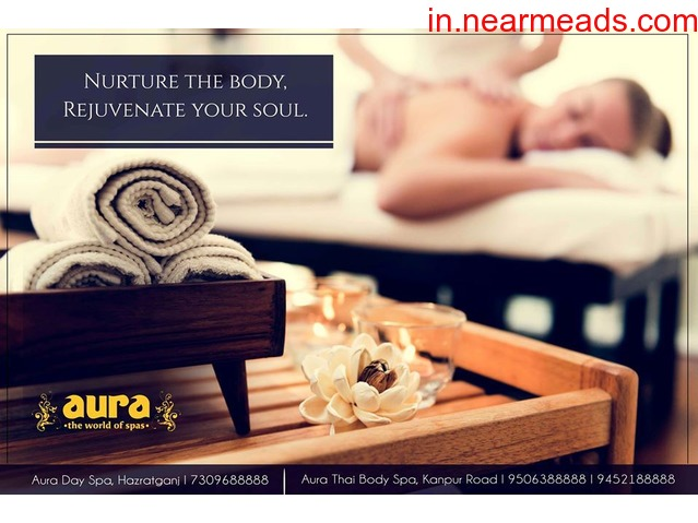 Aura – The World of Spas Hazratgang Lucknow - 1