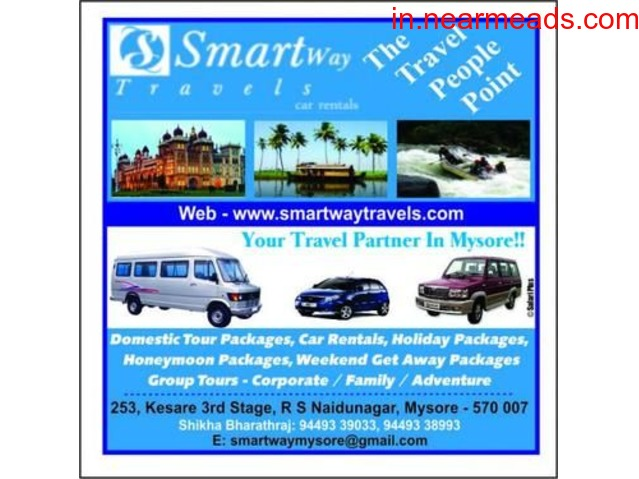 Smart Way Travels – Rent a Car or Taxi in Mysore - 1