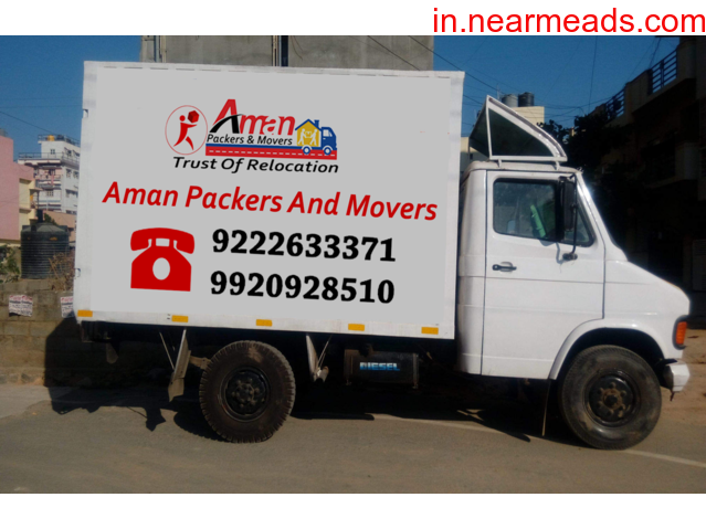 Aman Packers and Movers – Best Household Shifting Company - 1