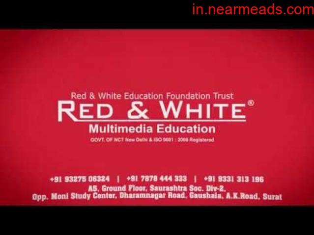 Red & White Multimedia Digital Marketing Course Surat - 1