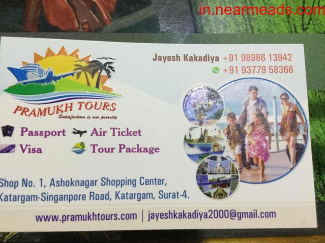 Pramukh Tours – Satisfaction is Our Priority - 1