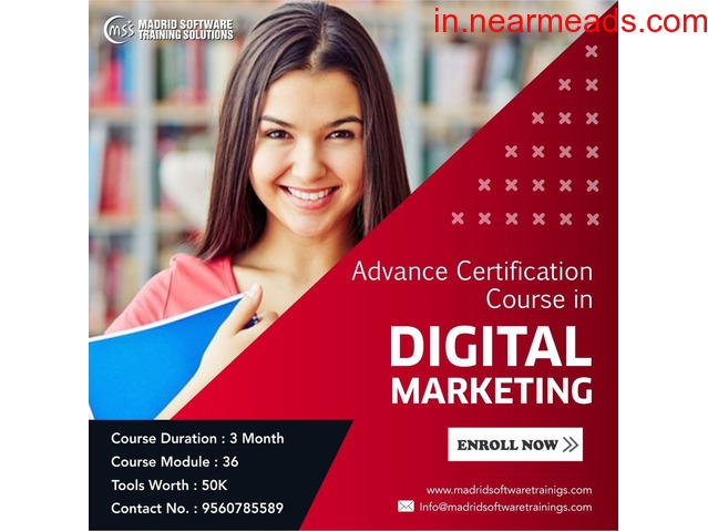 Join Best Digital Marketing Course in Delhi - Madrid Software Trainings - 2