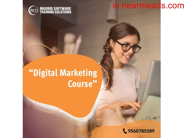 Join Best Digital Marketing Course in Delhi - Madrid Software Trainings - 3