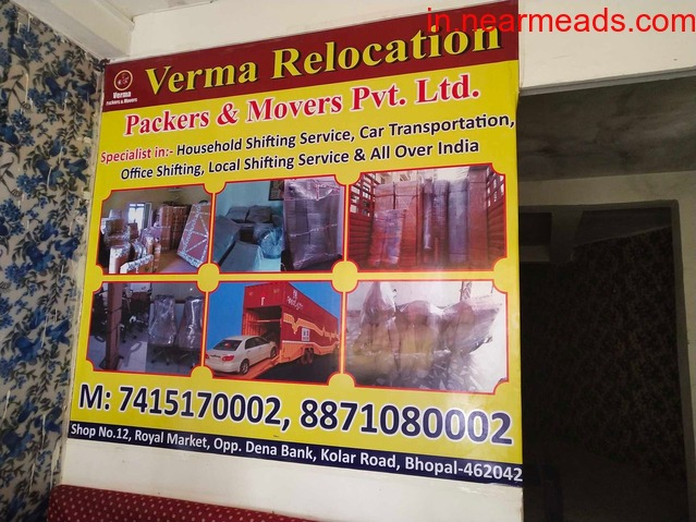 Verma Relocation Packers and Movers – Safe Shifting - 1
