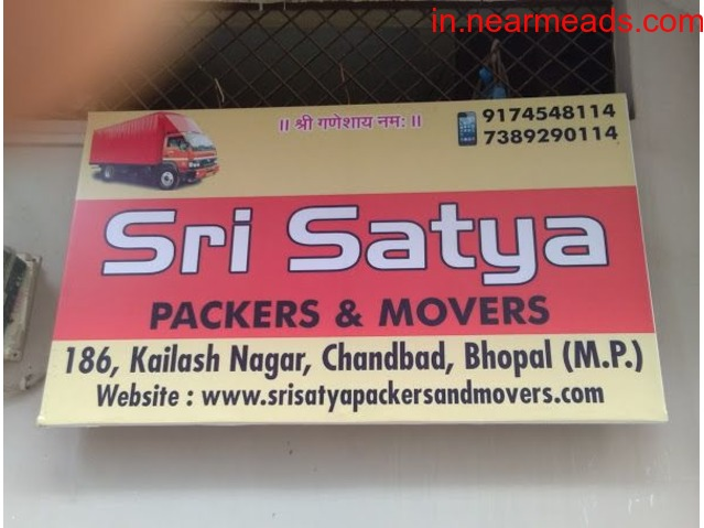 Sri Satya Packers and Movers – Best Relocation Company Bhopal - 1