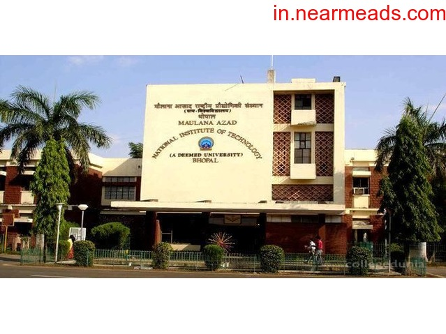 Maulana Azad National Institute of Technology (MANIT) Bhopal - 1