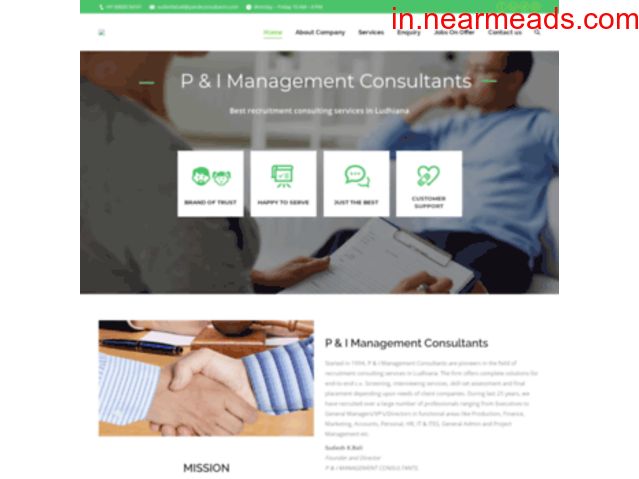 P&I Consultants – Best Placement Agency in Ludhiana - 1