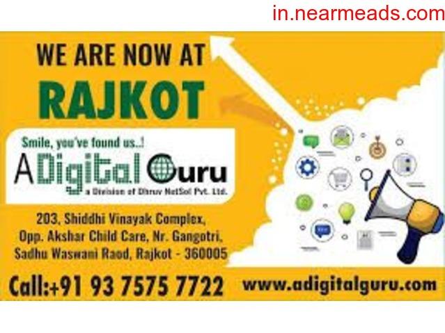 A Digital Guru – Learn Digital Marketing in Rajkot - 1