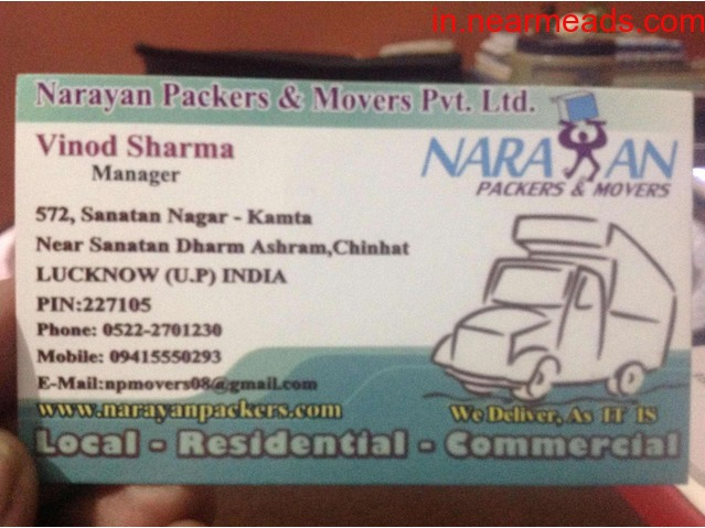 Narayan Packers – Move Your Items Safely - 1