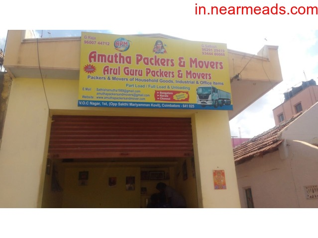 Amutha Packers and Movers in Coimbatore - 1