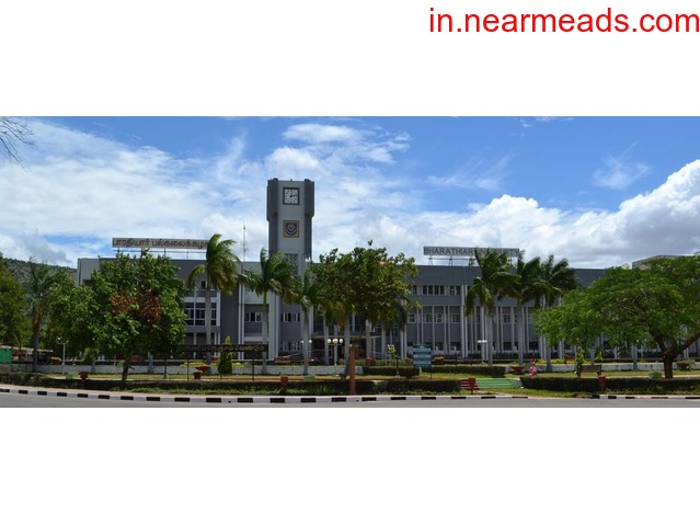 Find The Best MBA Colleges in Coimbatore at Bharathiar University - 1