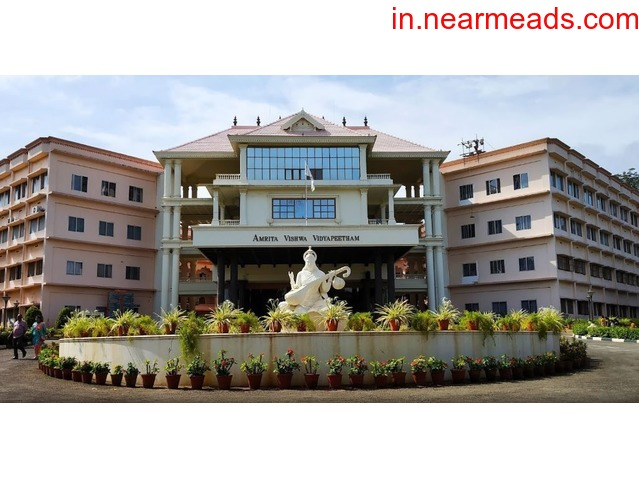 Find The Best MBA Colleges in Coimbatore at Amrita Vishwa Vidyapeetham - 1