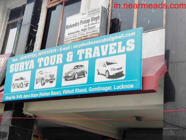 Surya Tours and Travels – Rental Taxi Services in Lucknow - 1