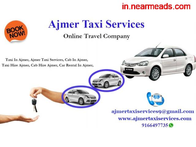 Luxary cabs and coaches in Ajmer , Taxi hire for outstation in Ajmer , - 1