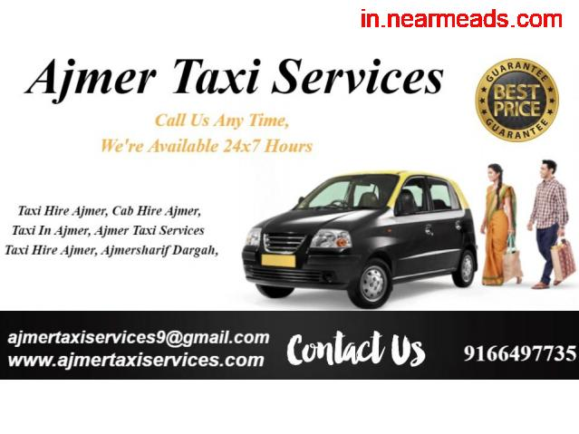 Luxary cabs and coaches in Ajmer , Taxi hire for outstation in Ajmer , - 2