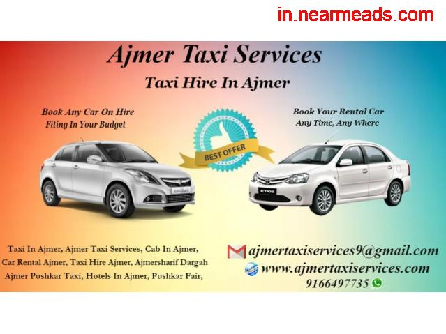 Luxary cabs and coaches in Ajmer , Taxi hire for outstation in Ajmer , - 3