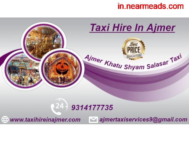 Taxi hire Ajmer , Car hire Ajmer ,  Taxi hire rates in Ajmer - 1