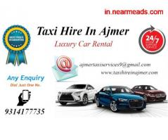 Taxi hire Ajmer , Car hire Ajmer ,  Taxi hire rates in Ajmer - Image 4