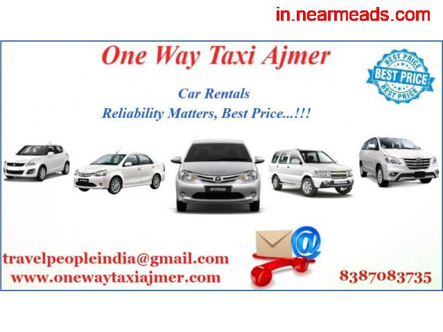 Ajmer to Udaipur Taxi , Oneway Udaipur to Ajmer Taxi Service , Ajmer cab - 1