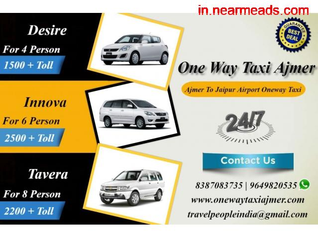 Ajmer to Udaipur Taxi , Oneway Udaipur to Ajmer Taxi Service , Ajmer cab - 3