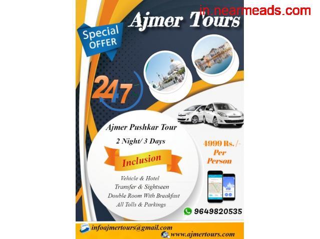 Online Taxi hire in Ajmer, Ajmer Online Taxi Providers, Tour Operator in Ajmer - 2