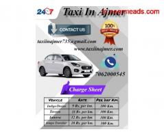 Ajmer Local Taxi , Ajmer Local Taxi Rates , Ajmer Taxi - Image 1
