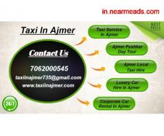 Ajmer Local Taxi , Ajmer Local Taxi Rates , Ajmer Taxi - Image 2