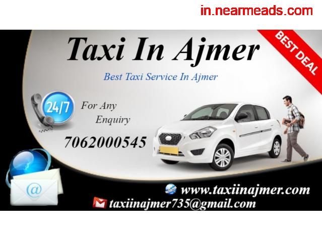 Ajmer Local Taxi , Ajmer Local Taxi Rates , Ajmer Taxi - 3