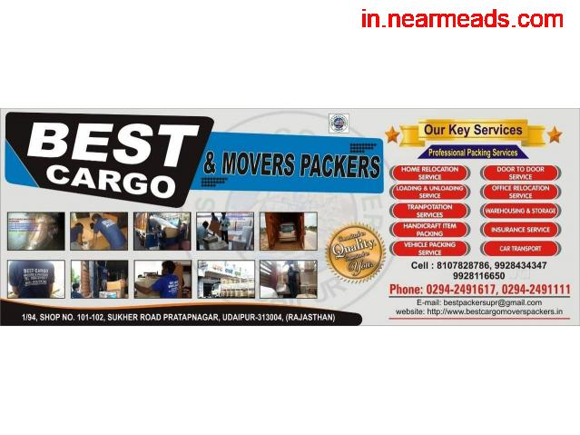 Best Cargo Movers Udaipur-Best Relocating Company - 1
