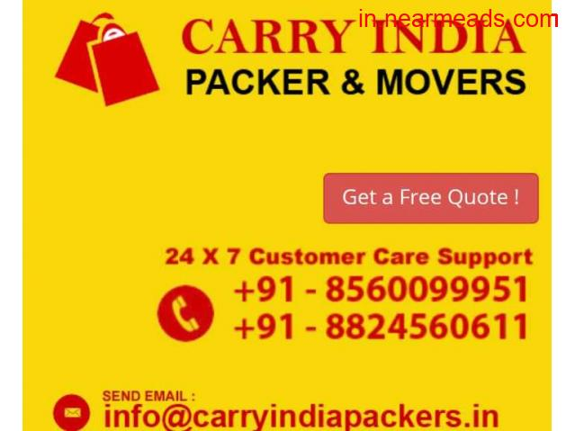Carry India Packers and Movers Services in Raipur - 1
