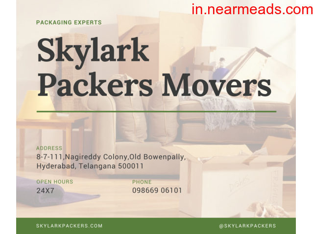 Skylark Packers and Movers Hyderabad – Get Best Moving Quotes - 1