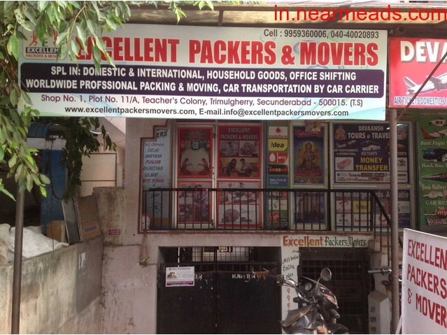 Excellent Packers and Movers Hyderabad – Best Movers and Packers - 1