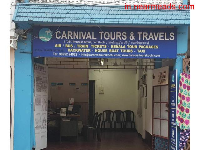 Carnival Tours and Travels Kochi – Best Tourism Agency - 1