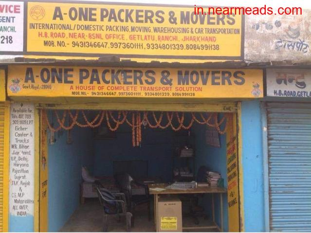 A-One Packers and Movers – Top Relocation Services Ranchi - 1