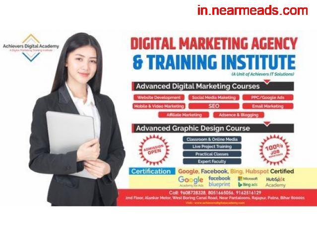 Achiever Digital Academy – Learn Digital Marketing in Patna - 1