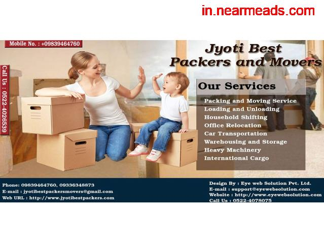 Jyoti Best Packers and Movers – Top Relocation Company Kanpur - 1