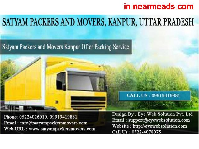 Satyam Packers and Movers – Moving Company in Kanpur - 1