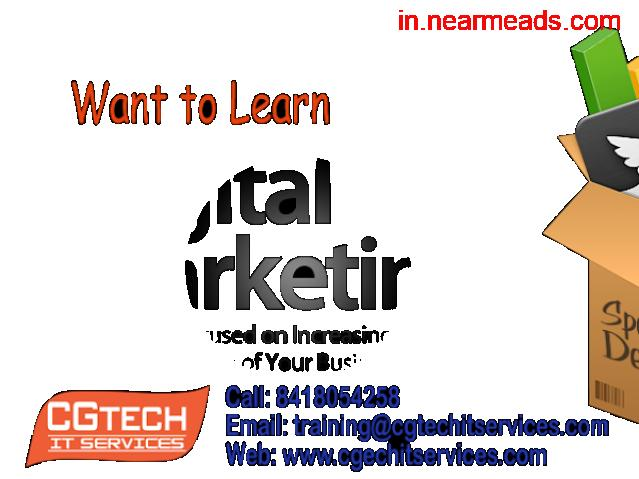 CG Tech IT Services – Learn Digital Marketing Course in Kanpur - 1