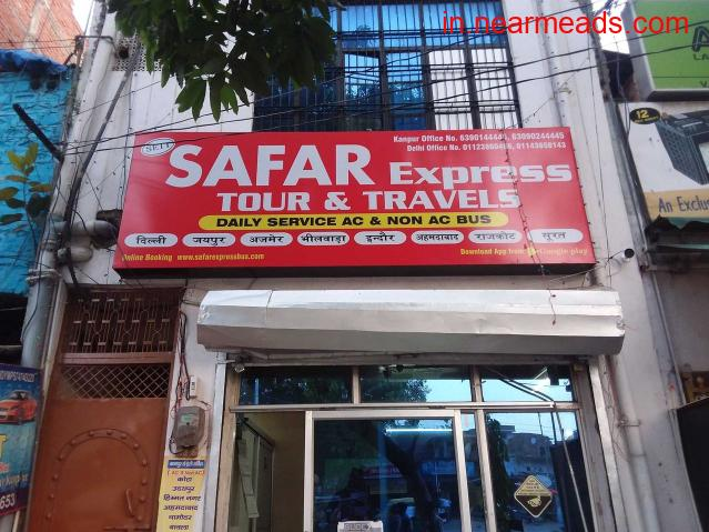 Safar Express – Best Tour Bus Services in Kanpur - 1