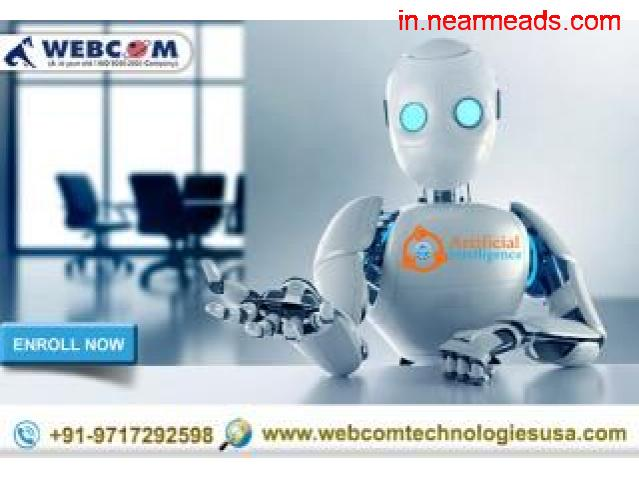 Webcom Technologies – Best Artificial Intelligence Training Kanpur - 1