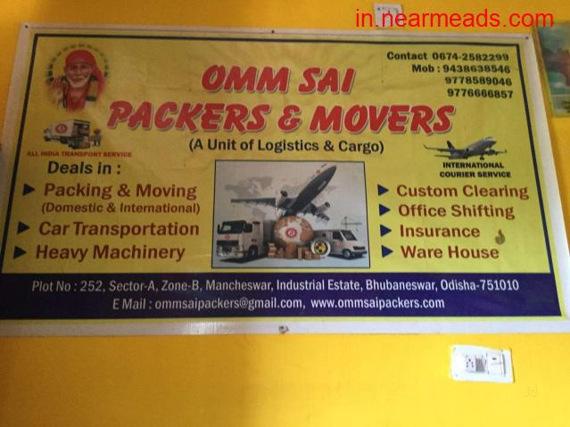 Omm Sai Packers and Movers – Top Moving Company in Bhubhaneshwar - 1