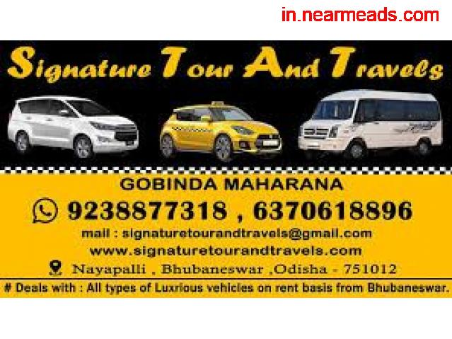Signature Tours and Travels – Best Tour Agency in Bhubaneswar - 1