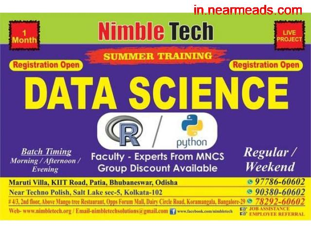 Nimble Tech – Top Data Science Training Institute in Bhubaneswar - 1