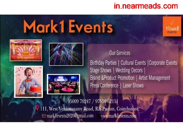 Mark 1 Decors – Best Wedding Management Company in Coimbatore - 1