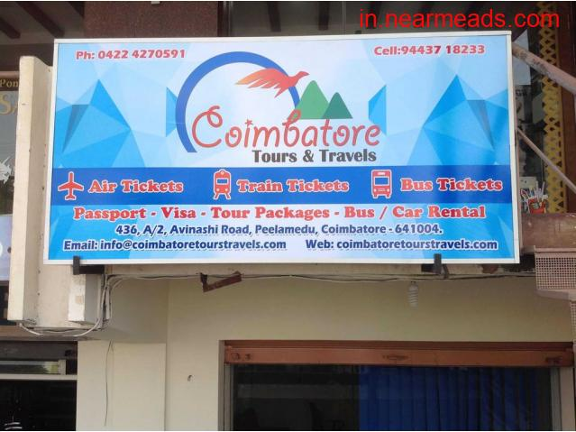 Coimbatore Tours and Travels – Best Travel and Tour Agent - 1