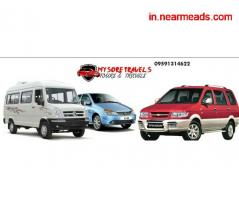 Mysore travels cab rentals in Mysore - Image 1