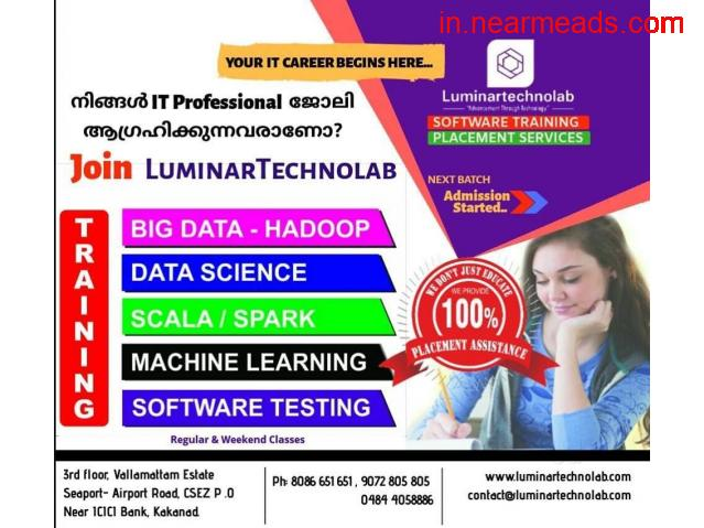 Luminartechnolab – Top Data Science Institute in Kochi - 1