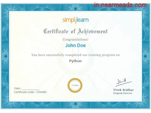 Simplilearn – Best Machine Learning Certification in Bhubaneswar - 1